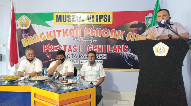 Iskandar Nusu Nahkodai Ketua IPSI Parepare