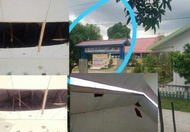 Kondisi Bangunan SD Inpres Kampung Baru Memprihatinkan