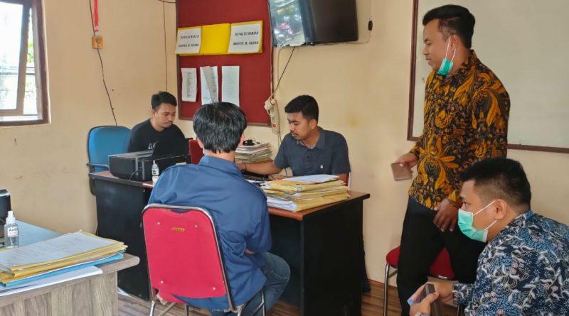 Kok Bisa!! Penyidik Fokus ITE Ke dua Wartawan Diperiksa Dibanding Pidana Dugaan Pelecehan 4 Staf Dishub Barru